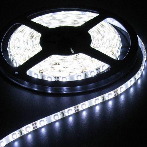Лент светодиодная LS 50W-60/65 60LED 14.4Вт/м 12В IP65 холодный белый 6000K LLT