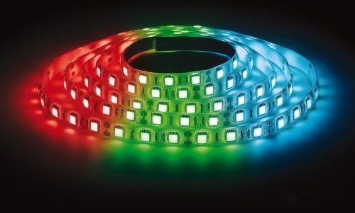 Лента светодиодная LS 50RGB-60/65 60LED 14.4Вт/м 12В IP65 мультиколор