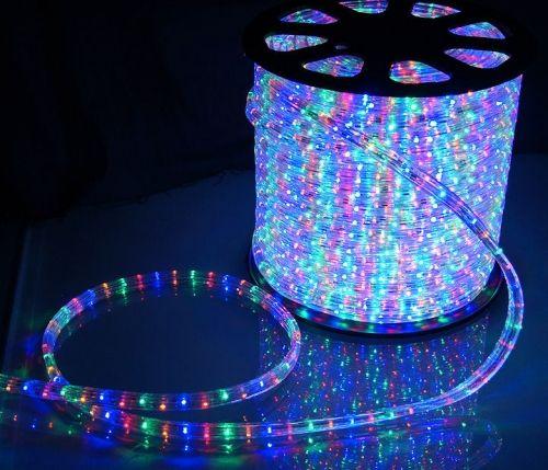 Дюралайт LED RYGB, квадратный, 3-жилы