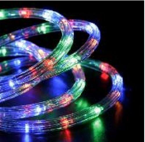 Дюралайт  LED RYBG, круглый, 3 жилы