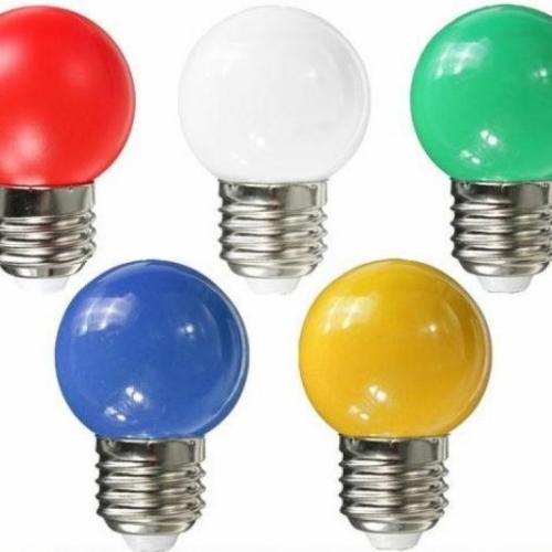 Лампа для белт-лайта Е27 1,5W Желтая