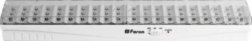 EL19 60 LED аккум.светильник DC (литий-ионная батарея), белый 403*67*46 мм