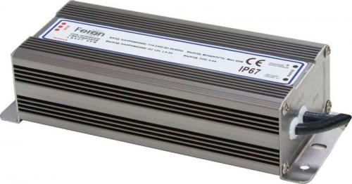 LB007 Трансформатор электронный для светодиодной ленты 100W 12V 200*68*45мм IP67 (драйвер)б/л