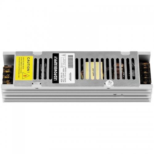 LB009 Трансформатор электронный для светодиодной ленты 200W 12V (драйвер) 200*58*37мм