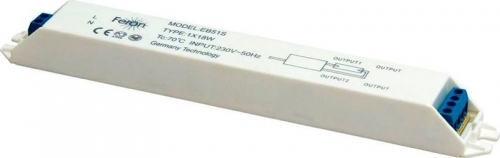 EB51S 1*18W T8/G13 230V электронный ПРА 195*28*19мм