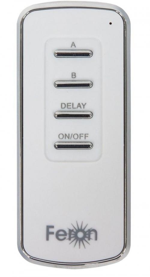 TM72 выключатель дистанционный 230V 1000W 2-х канальный 30м с пультом управления, белый