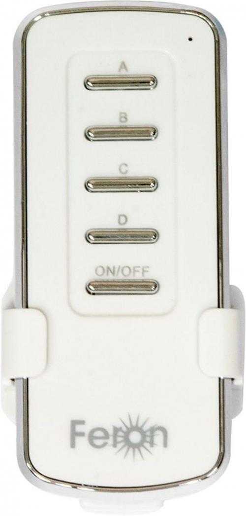 TM74 выключатель дистанционный 230V 1000W 4-х канальный 30м с пультом управления, белый