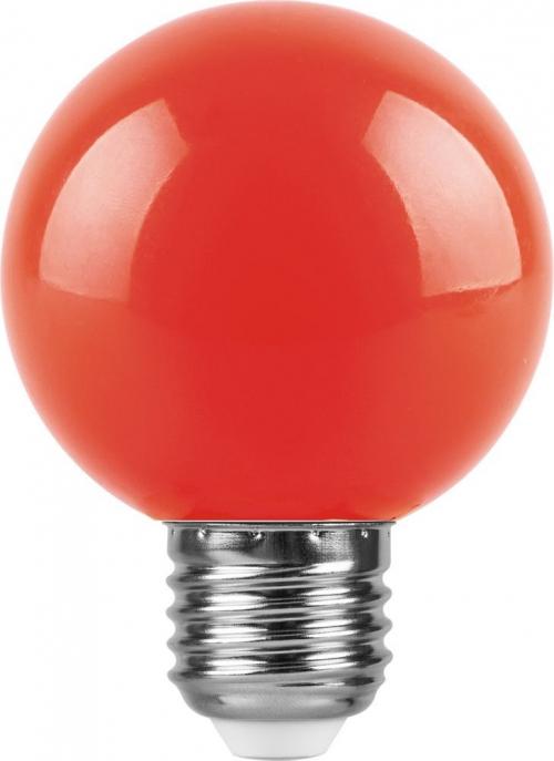 LB-371 (3W) 230V E27 красный для белт лайта G60