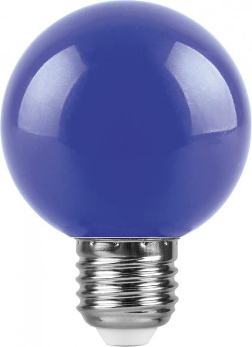 LB-371 (3W) 230V E27 синий для белт лайта G60