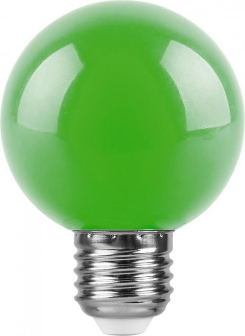 LB-371 (3W) 230V E27 зеленый для белт лайта G60