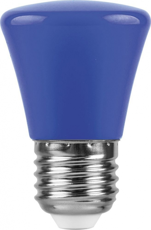 LB-372 (1W) 230V E27 синий Колокольчик для белт лайта