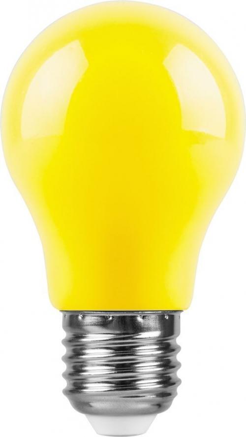LB-375 (3W) 230V E27 желтый для белт лайта A50