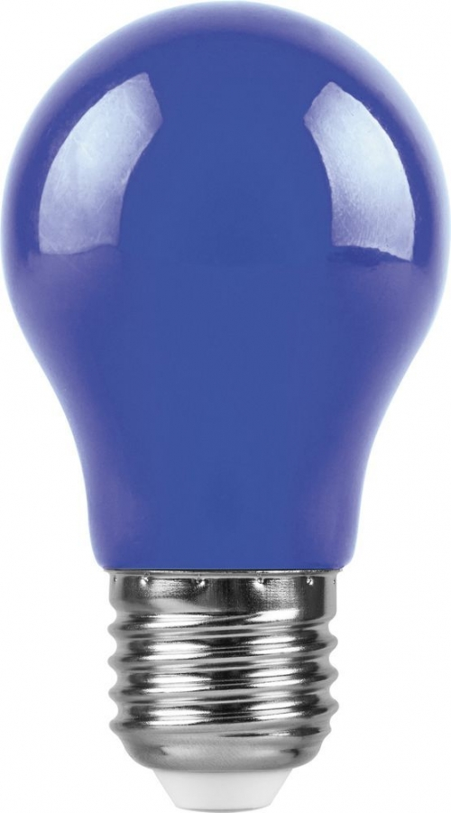 LB-375 (3W) 230V E27 синий для белт лайта A50