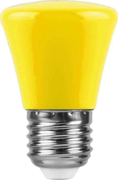 LB-372 (1W) 230V E27 желтый Колокольчик для белт лайта