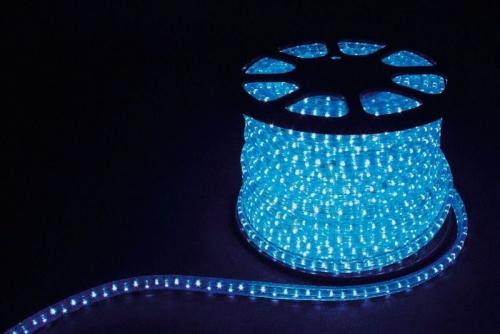 3W 50м квадр. 11х17мм 230V 72LED/м 2,88Вт/м, (2м/отрез), 2 аксесс., синий/ LED-F3W