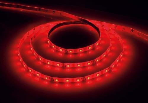 LS604/ 60SMD(2835)/м 4.8Вт/м 12V IP65 5000*8*3.8мм красный