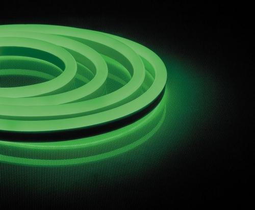 LS720 120SMD(2835)/м 9,6Вт/м 220V IP67, длина 50м, зеленый, неоновая