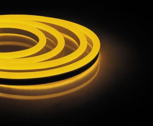 LS720 120SMD(2835)/м 9,6Вт/м 220V IP67, длина 50м, желтый, неоновая