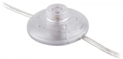 DM106 сетевой шнур (с ножным выключателем), 2,5 м, пластик, прозрачный