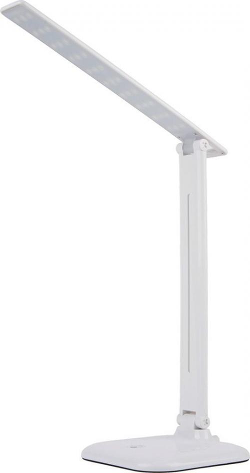 DE1725 Светильник настольный складной, диммируемый, 10W,100-240V, 4000К, 360*150*150 мм, белый