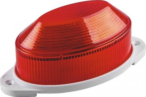 STLB01 светильник-вспышка (стробы) IP54 18LED 1,3W красный