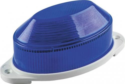 STLB01 светильник-вспышка (стробы) IP54 18LED 1,3W синий