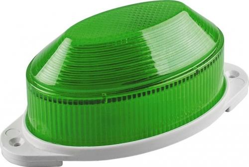 STLB01 светильник-вспышка (стробы) IP54 18LED 1,3W зеленый