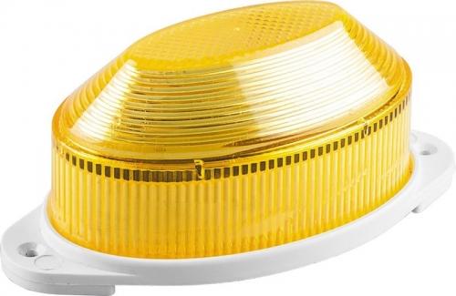 STLB01 светильник-вспышка (стробы) IP54 18LED 1,3W желтый