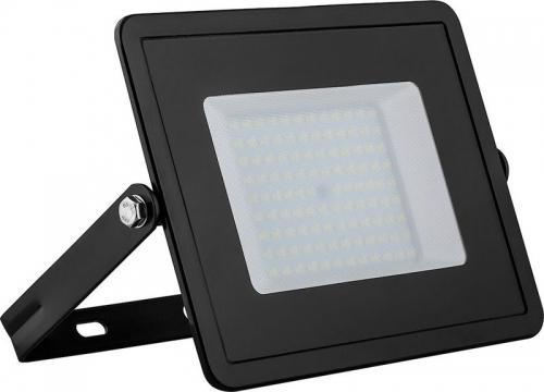 LL-922 2835 SMD 100W 6400K IP65  AC220V/50Hz, черный 261*217*33 мм
