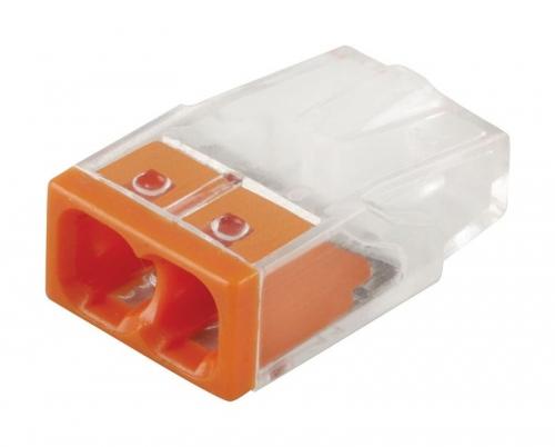 LD2273-202 Клемма монтажная 2-проводная (DIY упаковка 5 шт)