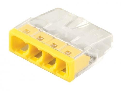 LD2273-204 Клемма монтажная 4-проводная (DIY упаковка 5 шт)