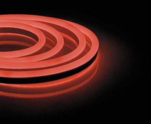 LS721 144SMD(2835)/м 12Вт/м 220V IP67, длина 50м, красный, неоновая