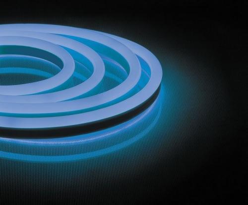 LS721 144SMD(2835)/м 12Вт/м 220V IP67, длина 50м, синий, неоновая