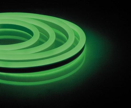 LS721 144SMD(2835)/м 12Вт/м 220V IP67, длина 50м, зеленый, неоновая