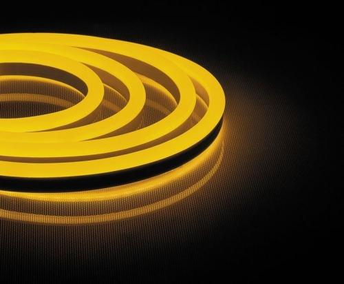 LS721 144SMD(2835)/м 12Вт/м 220V IP67, длина 50м, желтый, неоновая