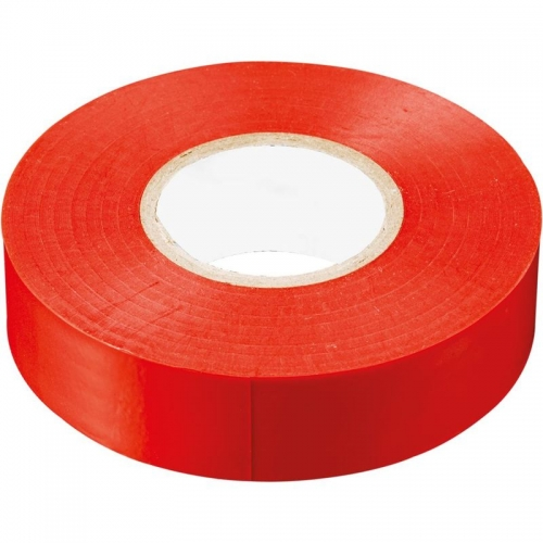 INTP01319-10 изоляционная лента 0,13*19 10 м. красная