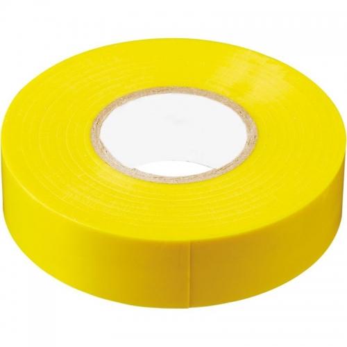 INTP01319-10 изоляционная лента 0,13*19 10 м. желтая
