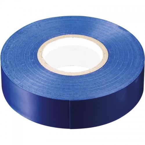 INTP01319-20 изоляционная лента 0,13*19 20 м. синяя