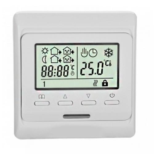 Терморегулятор комнатный/для теплого пола встраиваемый RTC 51.716