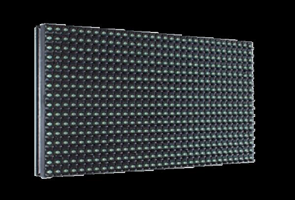 Модуль для бегущей строки 320х160 P10 20W 2700 KD/m2 эеленый